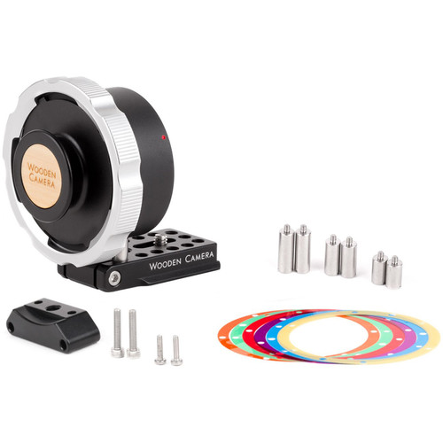Wooden Camera Pro Lens Mount Adapter for ARRI PL-Mount Lens to Canon RF-Mount Camera