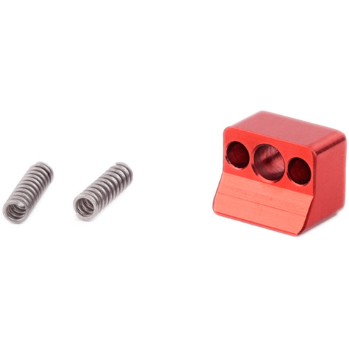 Wooden Camera Wedge & Spring Set for Quick Base/Quick Cage/Dovetail Clamp/Quick Riser