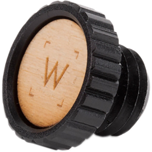 Wooden Camera End Cap for UVF Mount v2 15mm Rod