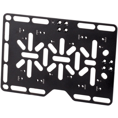 Wooden Camera Battery Plate for Director's Monitor Cage v2