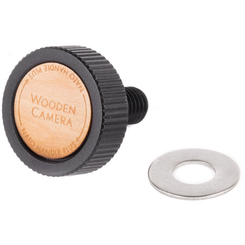 Wooden Camera Top Knob & Washer for Nato Handle Plus