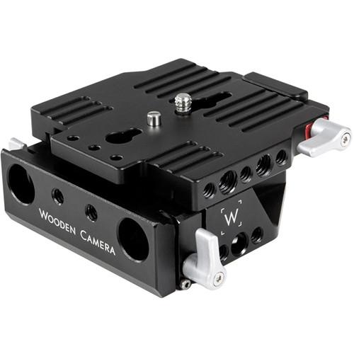 Wooden Camera Quick Base For Blackmagic Cinema Camera