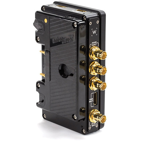 Wooden Camera C-Box 3G-SDI and HDMI Converter (Gold Mount)