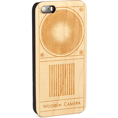 Wooden Camera Wooden Camera Logo (Front Portion) Case for iPhone 5/5s/SE