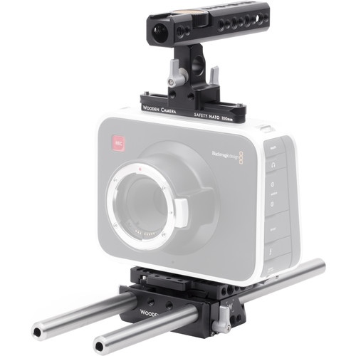 Wooden Camera Basic Accessory Kit for Blackmagic Cinema Camera