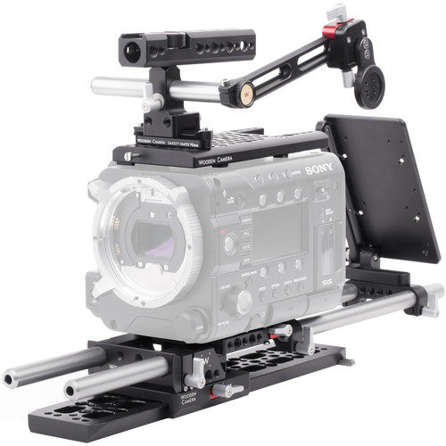Wooden Camera Professional Accessory Kit for Sony F55/F5 Camera