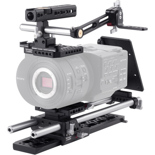 Wooden Camera Professional Accessory Kit for Sony FS700 Camera