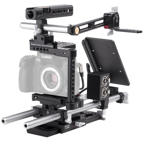 Wooden Camera Professional Accessory Kit for Panasonic GH3/GH4 Camera