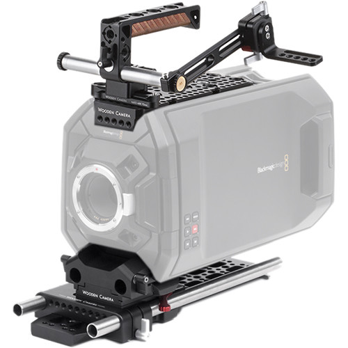 Wooden Camera Blackmagic URSA Pro Accessory Kit with 15mm Rods