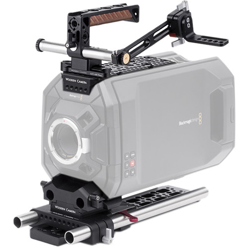 Wooden Camera Blackmagic URSA Pro Accessory Kit with 19mm Rods