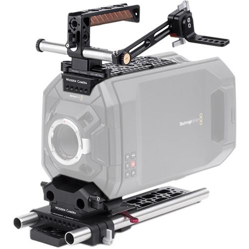 Wooden Camera Blackmagic URSA Pro Accessory Kit with 19mm Rods
