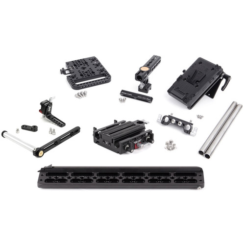Wooden Camera AJA CION Pro Accessory Kit with V-Mount Battery Plate