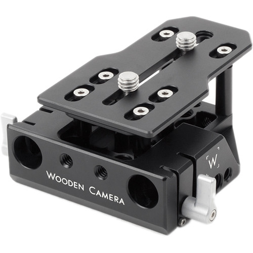 Wooden Camera Fixed Baseplate for Panasonic Varicam 35 Camera/Recorder