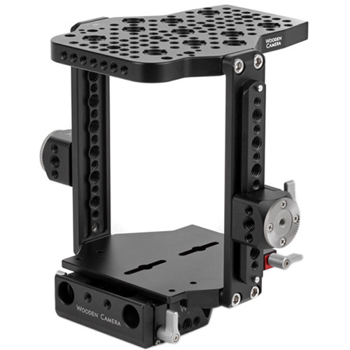 Wooden Camera Quick Cage for ARRI Alexa Mini with 15mm Lightweight Baseplate