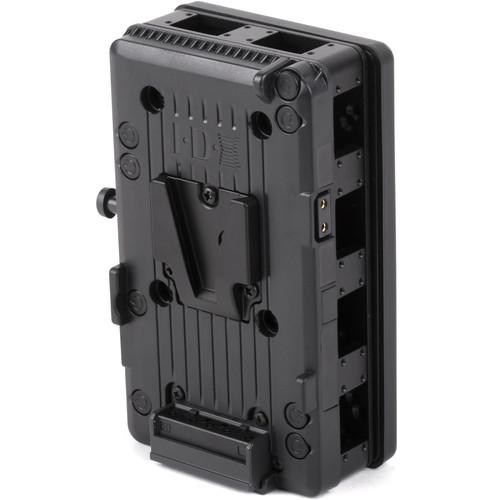 Wooden Camera D-Box V-Mount Battery Side to Gold Mount Camera Side Base Unit