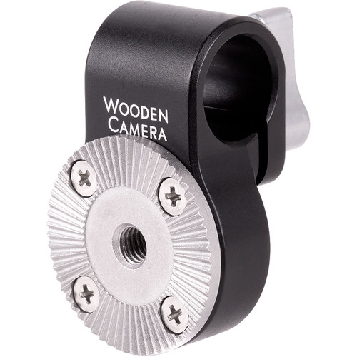 Wooden Camera 15mm Rod Clamp with ARRI-Style Rosette