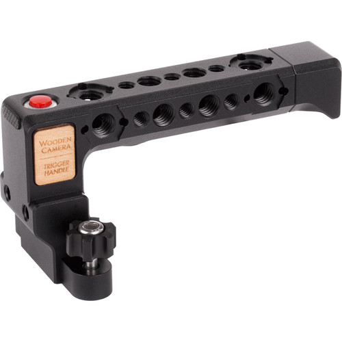 Wooden Camera Trigger Handle for RED WEAPON, SCARLET WEAPON, and RAVEN Cameras