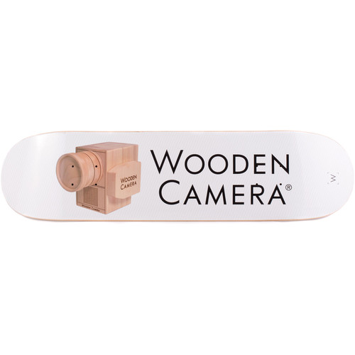 Wooden Camera Skateboard Deck