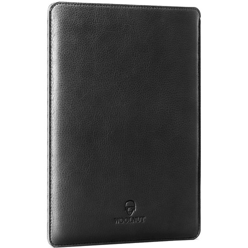 "Woolnut Leather Sleeve for MacBook 12"" (Black)"