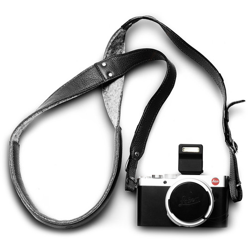 Woolnut Leather Camera Strap (Black)