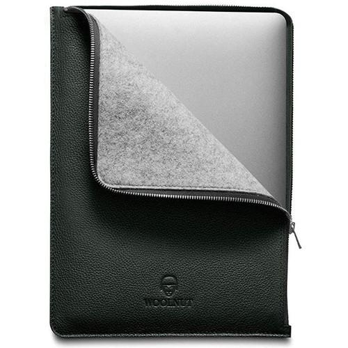 "Woolnut MacBook Pro 15"" Leather Folio (Racing Green)"