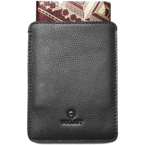Woolnut Passport Sleeve (Black)