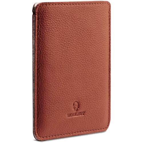 Woolnut Passport Sleeve (Cognac Brown)