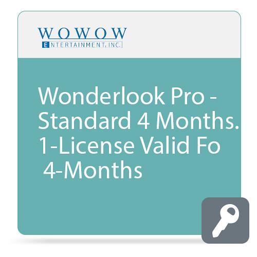 WOWOW Entertainment WonderLook Pro (4-Month Standard License, Download)