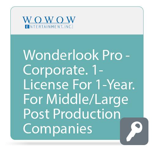 WOWOW Entertainment WonderLook Pro (1-Year Corporate License, Download)