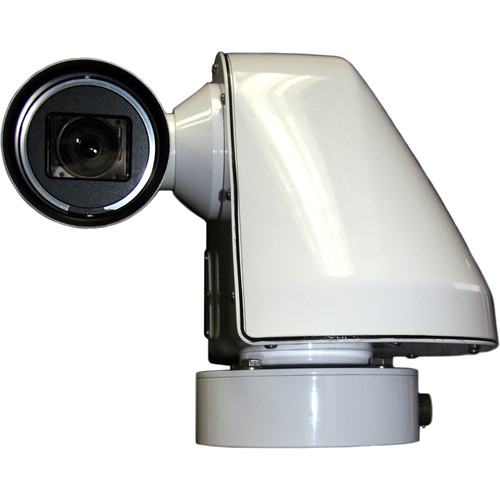 WTI SW720HV-H.264-SD-ENG Sidewinder 540TVL Outdoor IP Camera with Electric Brakes and Side Egress MS Connector (NTSC)