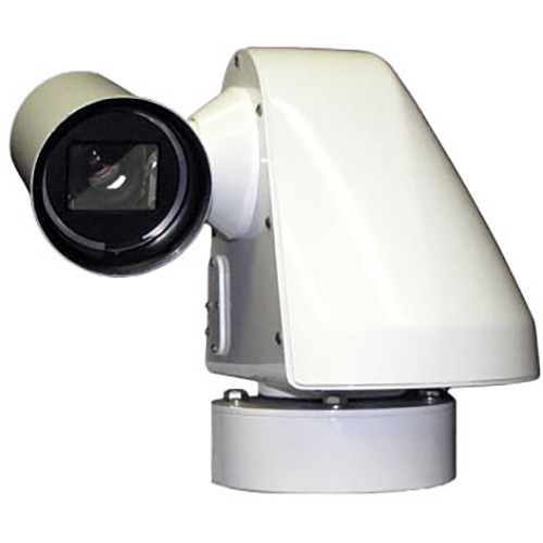 WTI SW720HV-H.264-SD Sidewinder 540TVL Outdoor IP Camera with Side Egress MS Connector (NTSC)