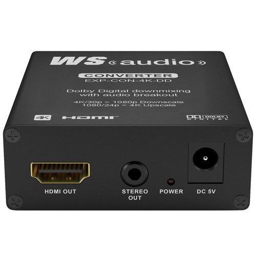 WyreStorm Express 4K Downscaler and HD Upscaler with Dolby Digital Downmixing