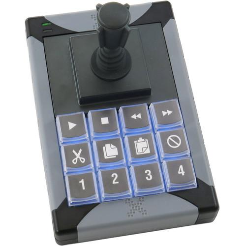 X-keys XK-12 USB Joystick with 12-Button Macro Keypad
