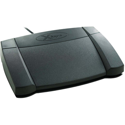 X-keys XK-3 Front Hinged Foot Pedal