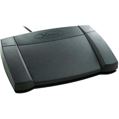 X-keys XK-3 Media Player Foot Pedal