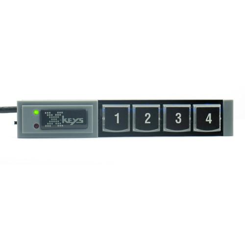 X-keys 4-Key Stick for KVM Control