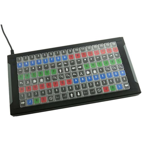 X-keys XKE-128 KVM Keyboard