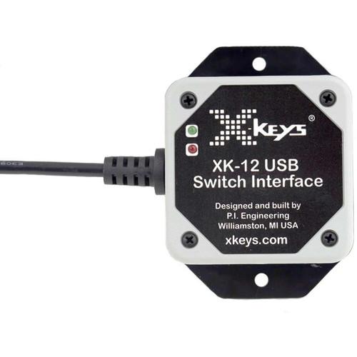 X-keys USB 12 Switch Interface for KVM Switches