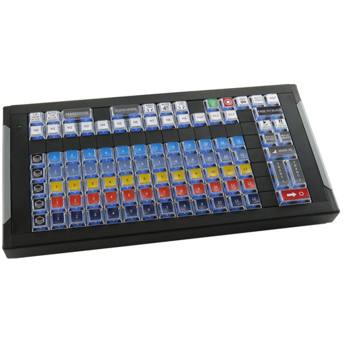 X-keys Custom Xke-128 Control Board For Telestream Wirecast 9 And Newer.