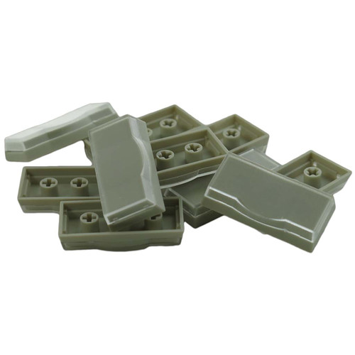 X-keys XK-A-003-R Wide Keycaps (Beige, Pack of 10)