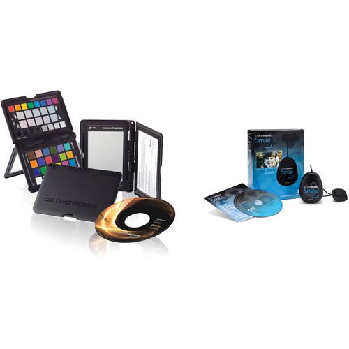X-Rite ColorChecker Passport with ColorMunki Smile Color Calibration Solution Kit