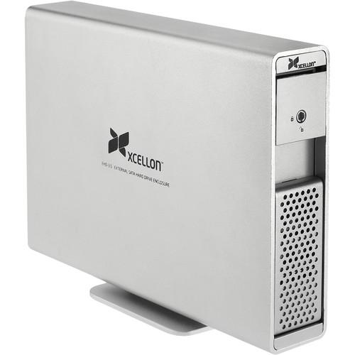 "Xcellon EHD-3.5 External 3.5"" SATA Hard Drive Enclosure"