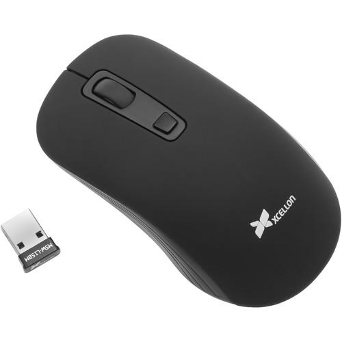 Xcellon MSW-L15 Wireless Laser Mouse (Matte Black)