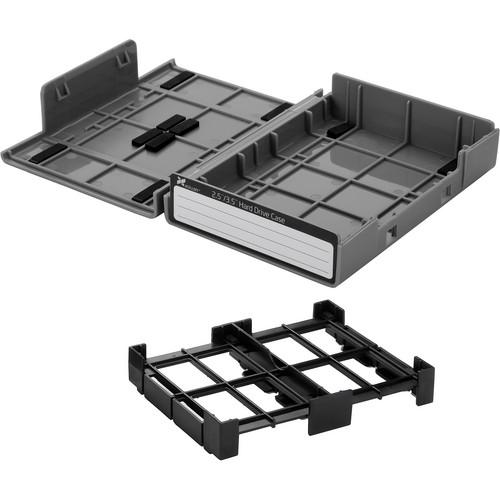 """Xcellon Xcellon 3.5"""" / 2.5"""" Hard Drive Case (Gray, 10 Pack)"""