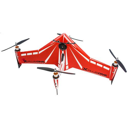 Xcraft X PlusOne Platinum Quadcopter (Red)