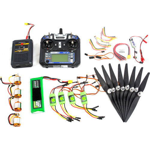 Xcraft DIY Completion Kit for X PlusOne Quadcopter