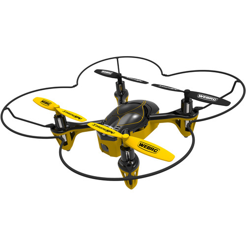 XDrone Spy Drone with 2.4 GHz Remote Control and Video Camera
