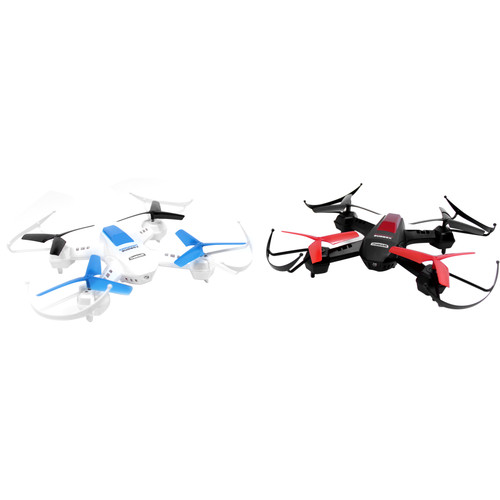 XDrone Warriors Drone with 2.4 GHz Remote Control (Pair)