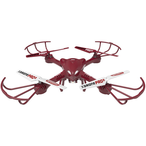 XDrone Pro 2 Drone with 2.4 GHz Remote Control and Video Camera