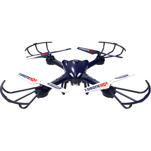 XDrone HD 2 Drone with 720p HD Camera & 6-Axis Gyroscope